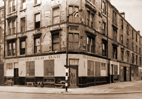 Old Whitefield Bar Govan Road early 1960s